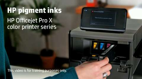 HP Officejet ProX SFP Pigment Training Video