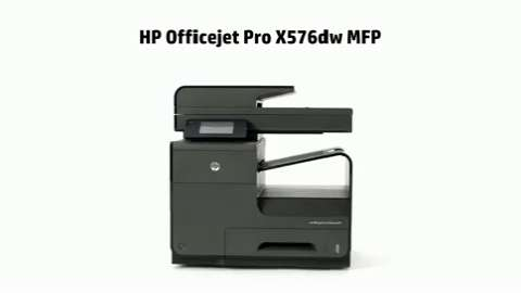HP OJP X576dw Printer Product Overview