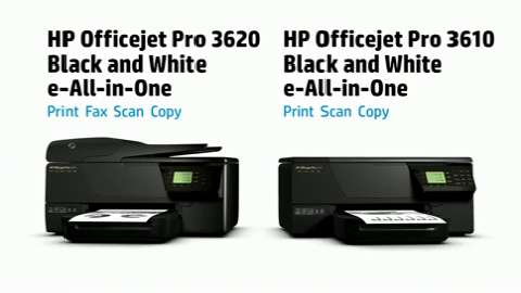HP OJP 3610_3620 Printer Product Overview
