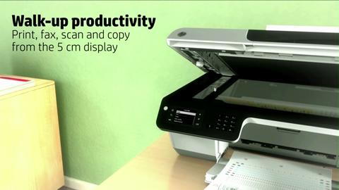 HP Officejet 2620 e-All-in-One Product Overview for EMEA