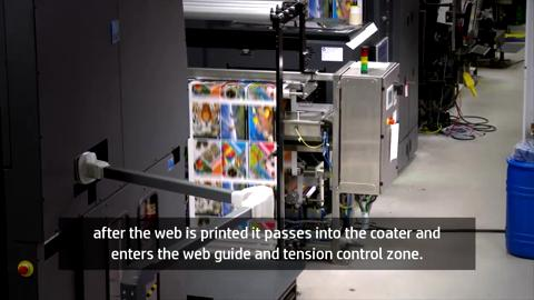 Epic Webcoat finishing for HP Web Press
