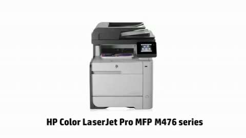 HP Color LaserJet Pro MFP M476 series (music only)