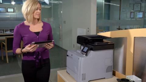 Print from your smartphone, tablet, or notebook computer (HP Color LaserJet Pro MFP M476)