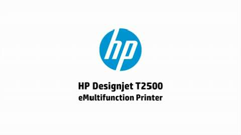 HP Designjet T2500 - English (UK)
