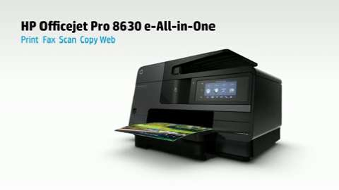 HP Officejet Pro 8630 e-All-in-One Printer Product Overview ROW :30