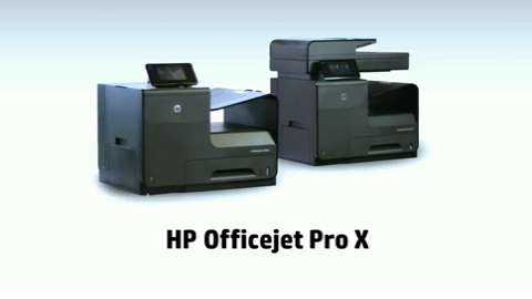 HP Officejet Pro X - fastest
