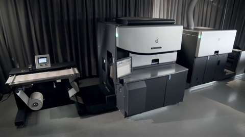 HP Indigo WS6800 Digital Press