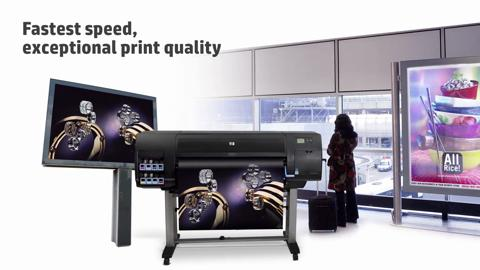 HP Designjet Z-series Printers. Excellence. The new standard