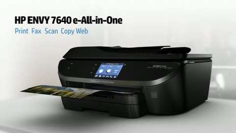 HP Envy 7640 Printer Overview Video for North America