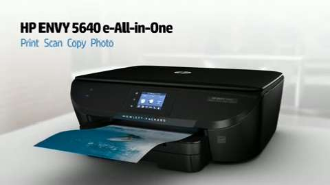 HP Envy 5640 Printer Overview Video for North America