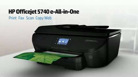 HP Officejet 5740 Printer Overview Video for North America