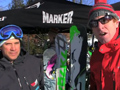 Award Winning Volkl Skis at Okemo, VT