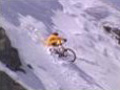Backcountry Snow Mountain Bike Crash