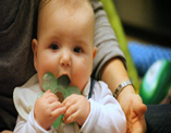 How do I soothe my teething baby?