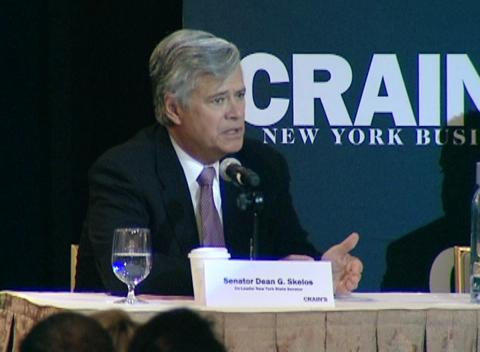 Jeff Klein, Dean Skelos address NY&#039;s minimum wage