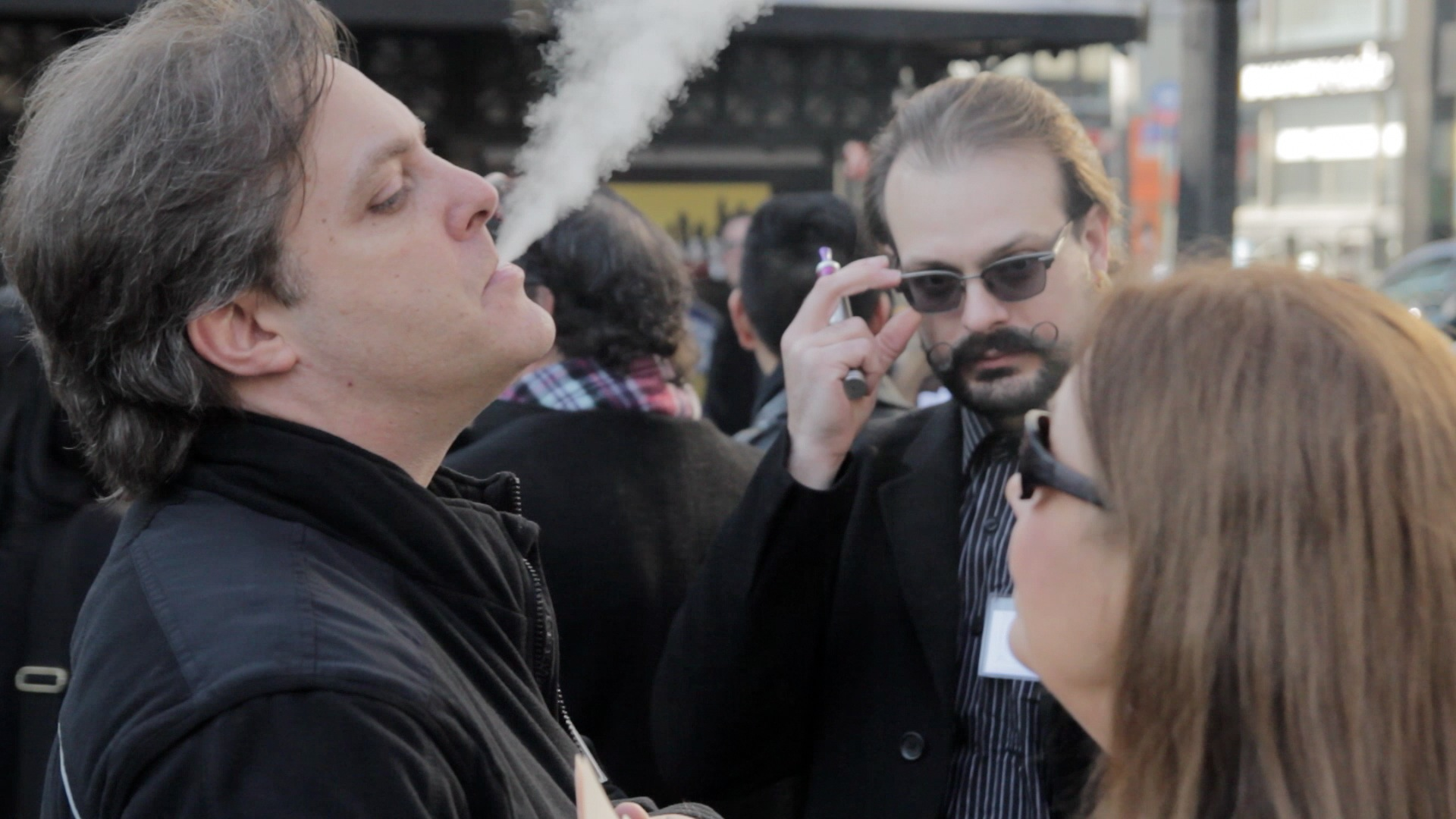 E-cig users fume at City Hall
