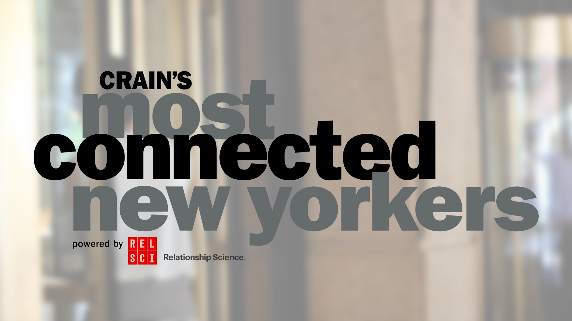 The secret to identifying NY's most-connected execs
