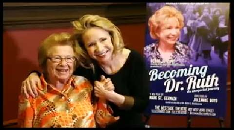 Let's Talk About Sex! Debra Jo Rupp and Dr. Ruth Westheimer on Bringing <i>Becoming Dr. Ruth</i> Off-Broadway