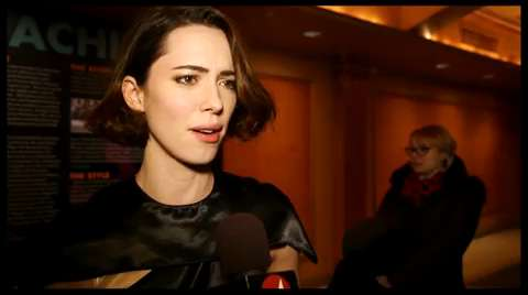 Take a Look at the Inner Workings of <I>Machinal</i>, Starring Rebecca Hall, on Opening Night