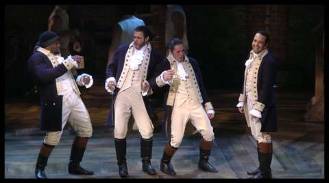 Rise Up! See Lin-Manuel Miranda & the Hip-Hop <I>Hamilton</I> Forefathers Dance, Duel & Change History