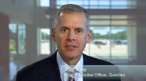 Welcome to Quintiles: A message from Tom Pike