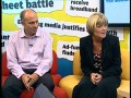 Media Week TV - Fru Hazlitt & Andrew Harrison