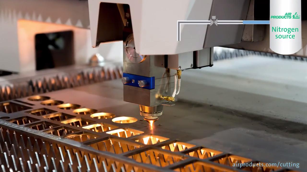 Optimizing your laser cutting gas supply