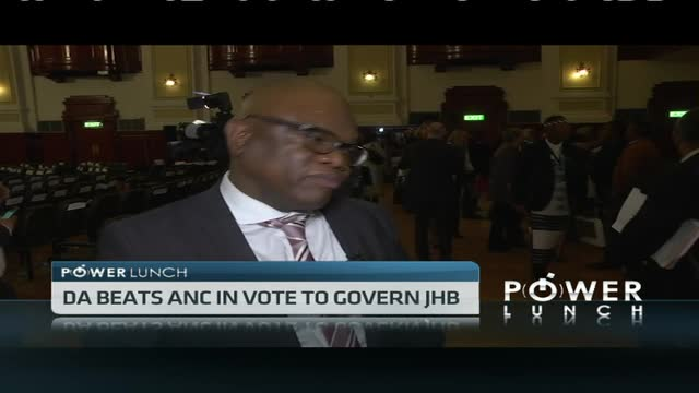 DA beats ANC in vote to govern JHB