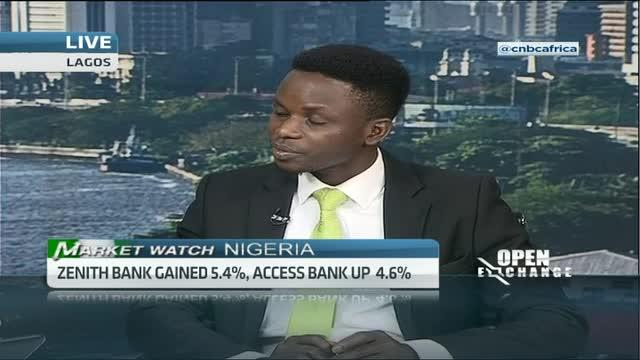 Nigeria's banking sector leads gainers chart
