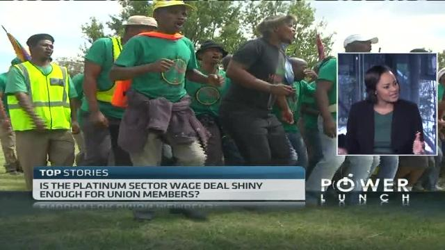 Is the platinum sector wage deal enough for Union members?