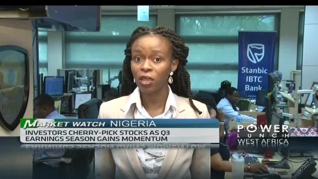 Nigeria's bourse extends losses