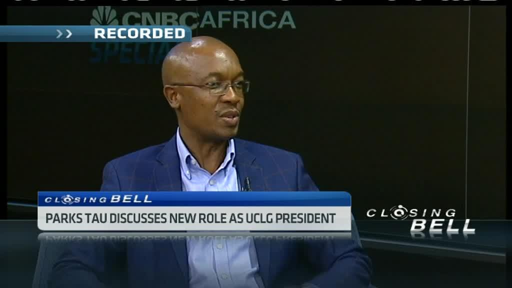 Parks Tau discusses new role as UCLG president