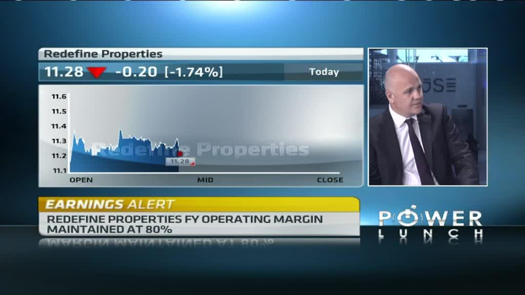 Redefine records an increase in property assets