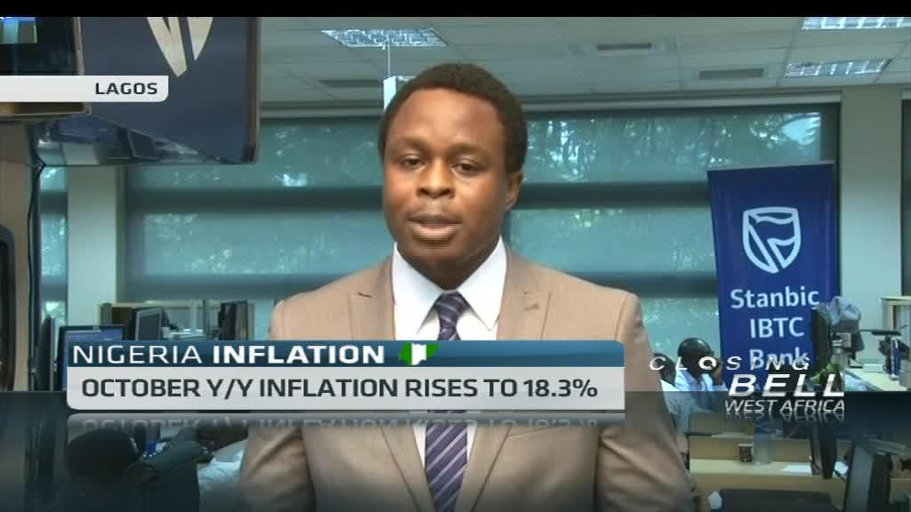 Nigeria inflation hit highest level ahead of MPC meeting