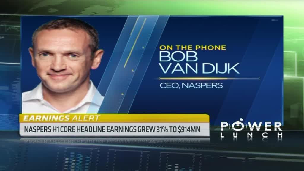 Non-S.A business boost Naspers earnings