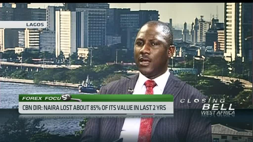 Naira loses 85% of value in two years - CBN