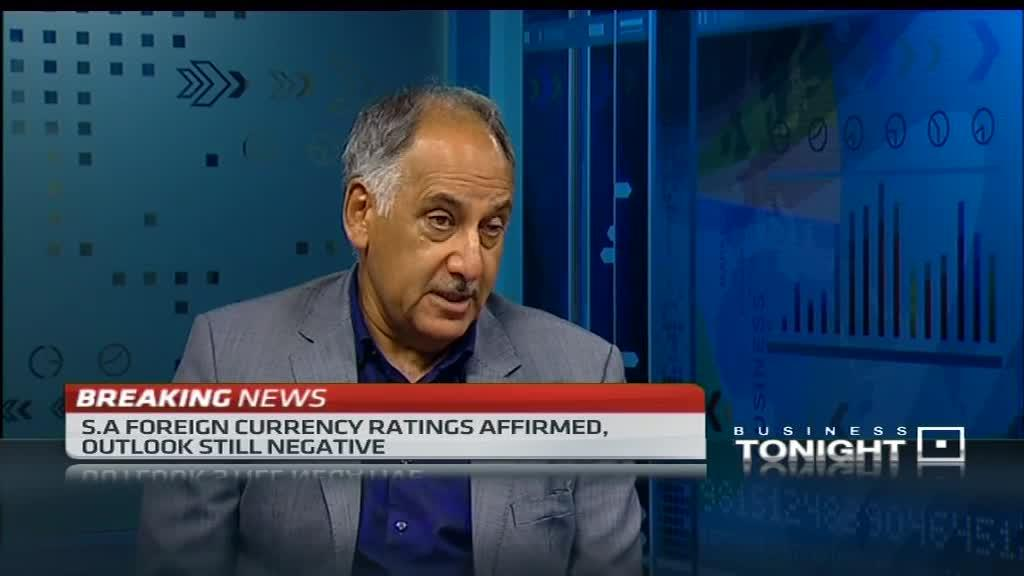 BUSA's Cas Coovadia reacts to S&P's ratings decision