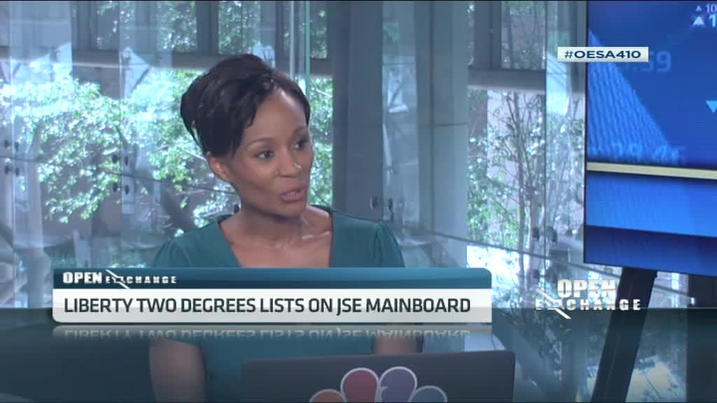 Liberty Two Degrees lists on JSE mainboard