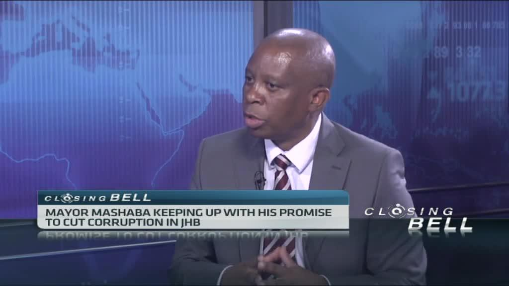Joburg Mayor Herman Mashaba on tackling corruption