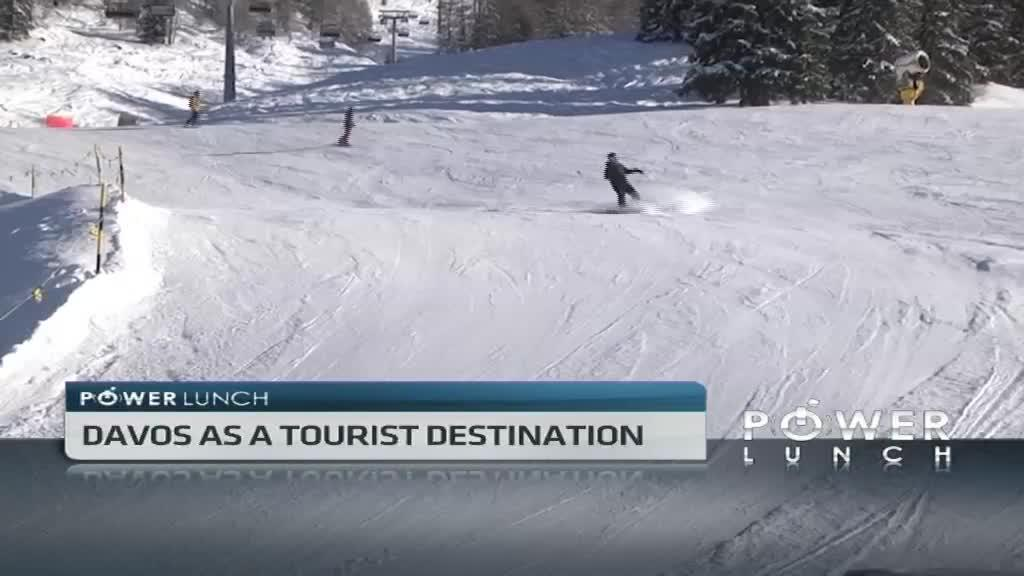 A taste of winter tourism in Davos
