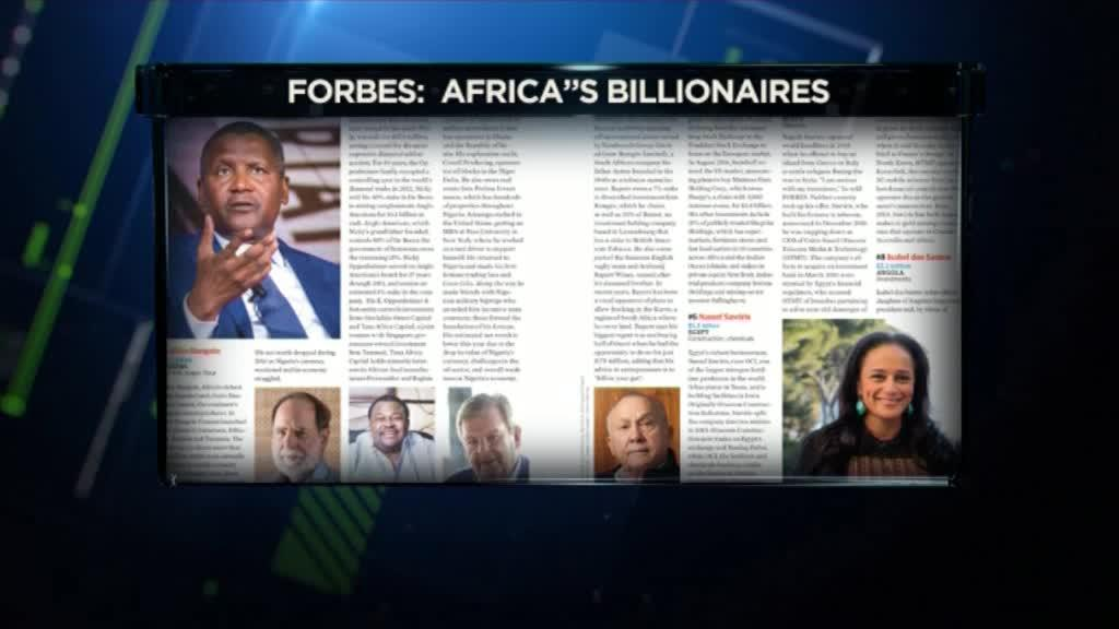 Africa's wealthiest list revealed