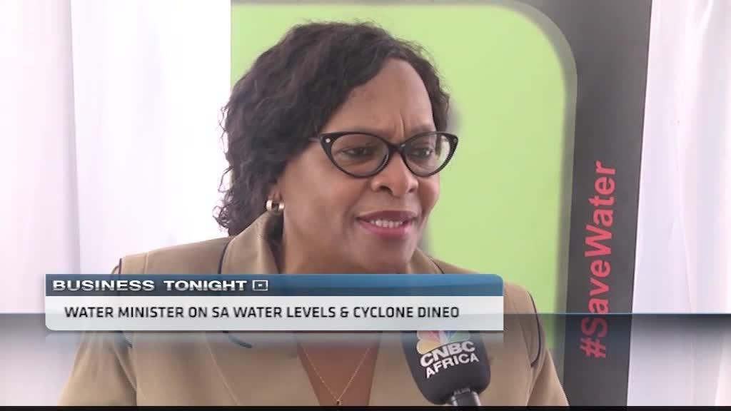SA's water minister on cyclone Dineo & water levels