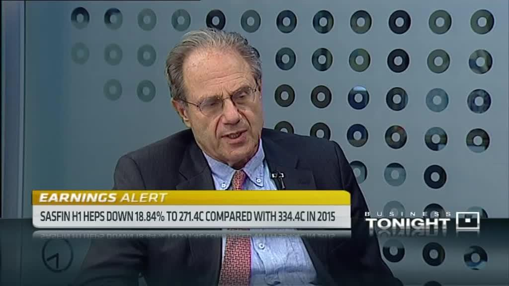 Sasfin Holdings HEPS down 18%