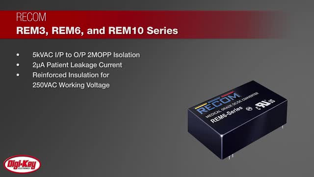 RECOM-REM3610-Medical-Grade-Regulated-DCDC-Converters-Digi-Key-Daily