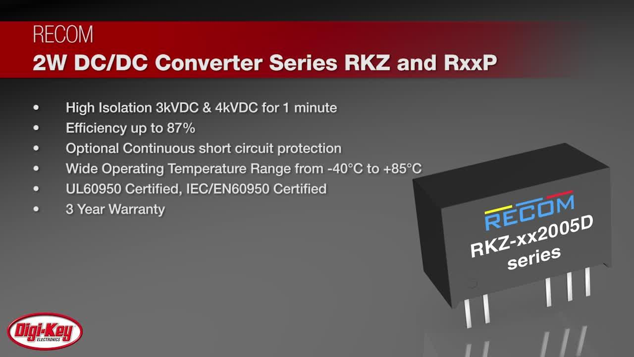 RECOM-High-Isolation-Asymmetric-Output-DCDC-converters-for-SiC-MOSFETs-Digi-Key-Daily