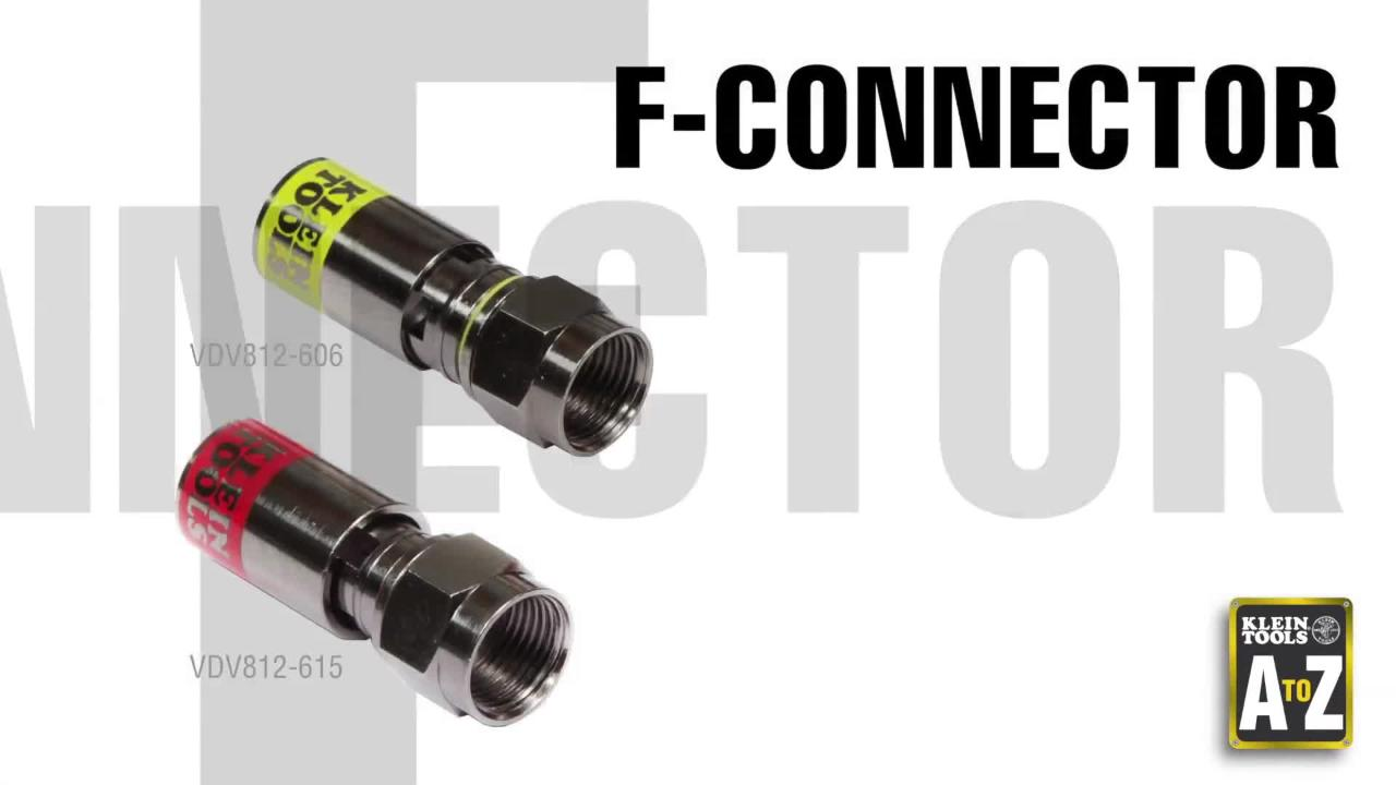 Klein-Tools-A-to-Z-F-Connectors