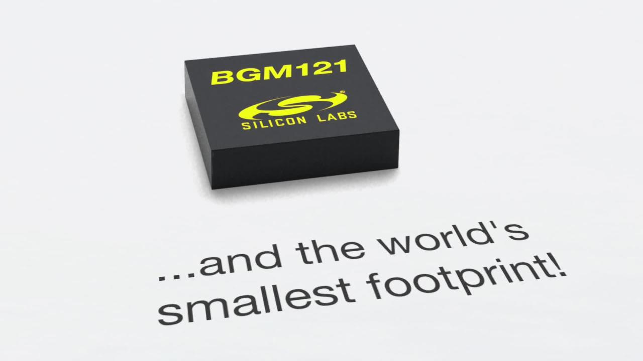 BGM121-Bluetooth-Module-overview