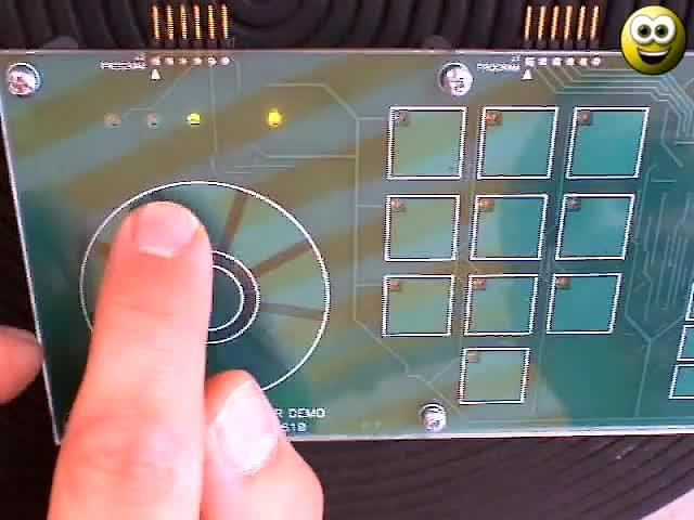 Microchip-mTouch-Capacitive-Touch-Demonstration