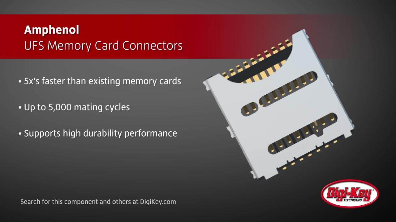Amphenol-UFS-Memory-Card-Connectors-Digi-Key-Daily