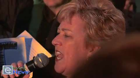 Linda Peterson Denounces HB 477 at a Rally on Capitol Hill